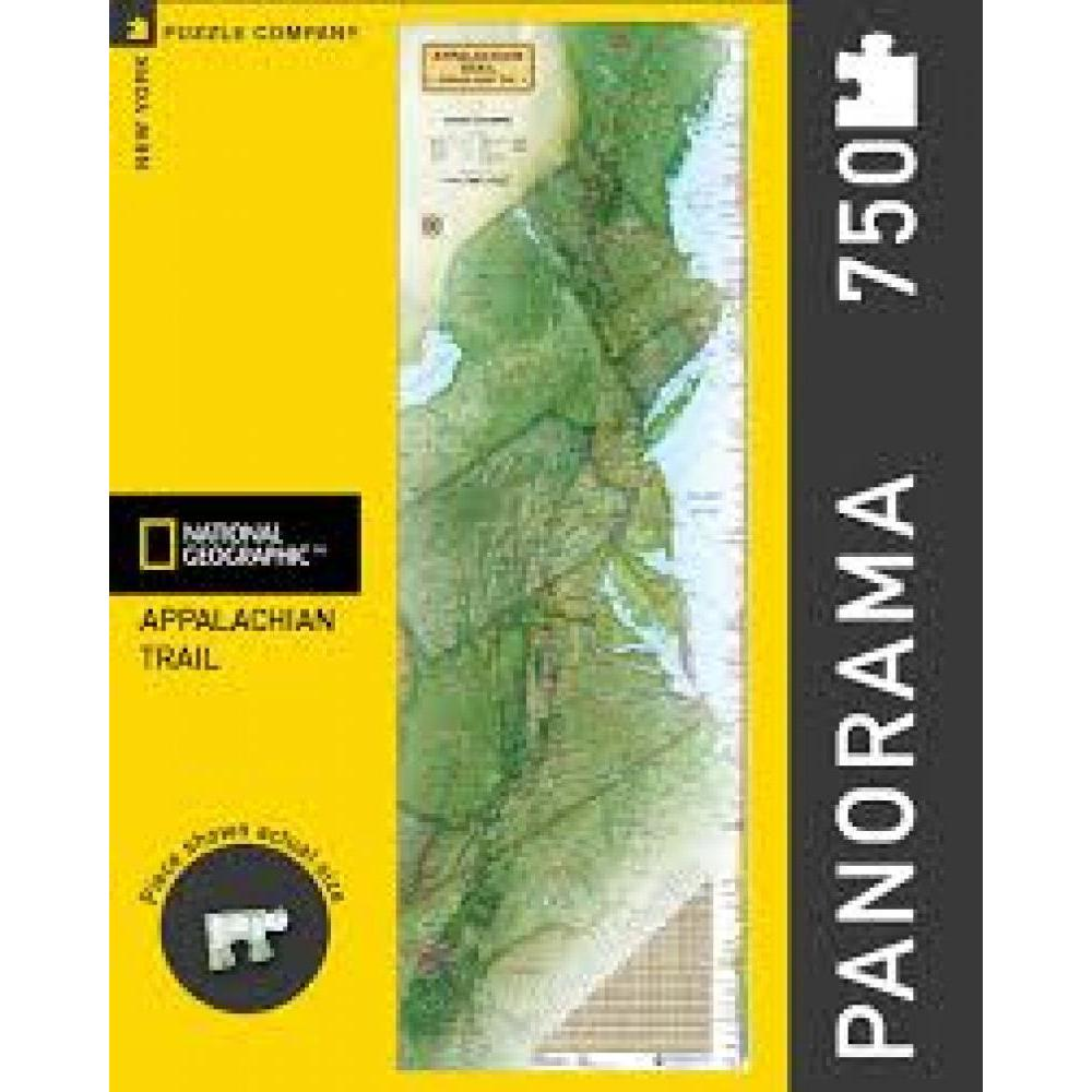 National Geographic Puzzle 750 Piece Appalachian Trail
