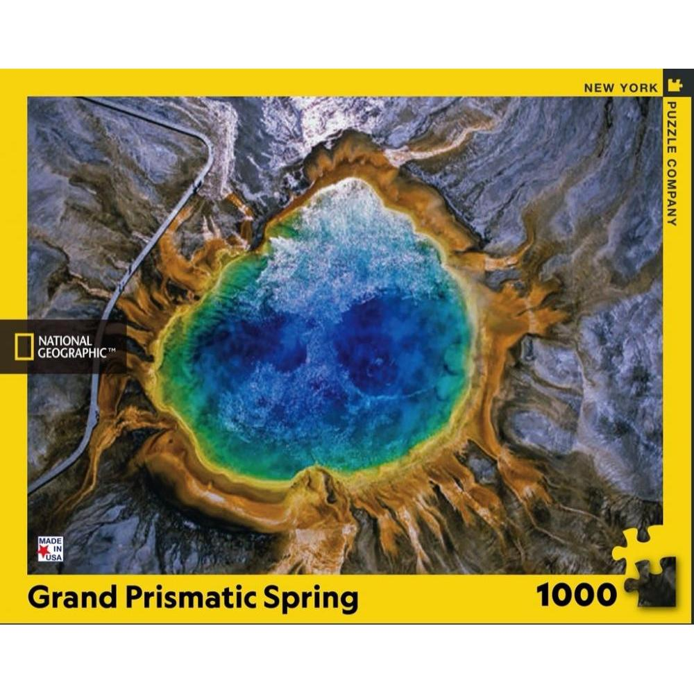 National Geographic Puzzle 1000 Piece Grand Prismatic Spring