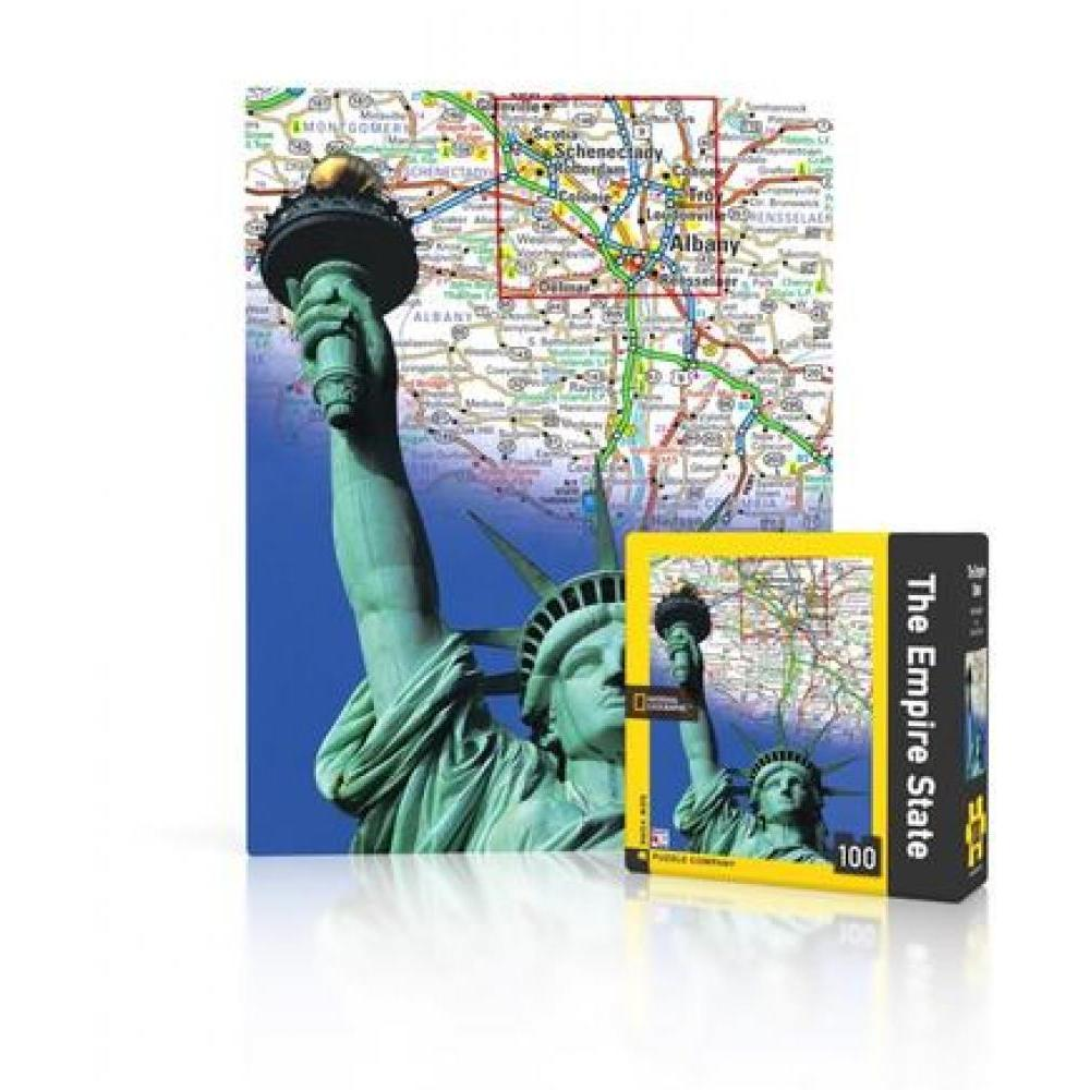 National Geographic Mini Puzzle 100 Piece Empire State