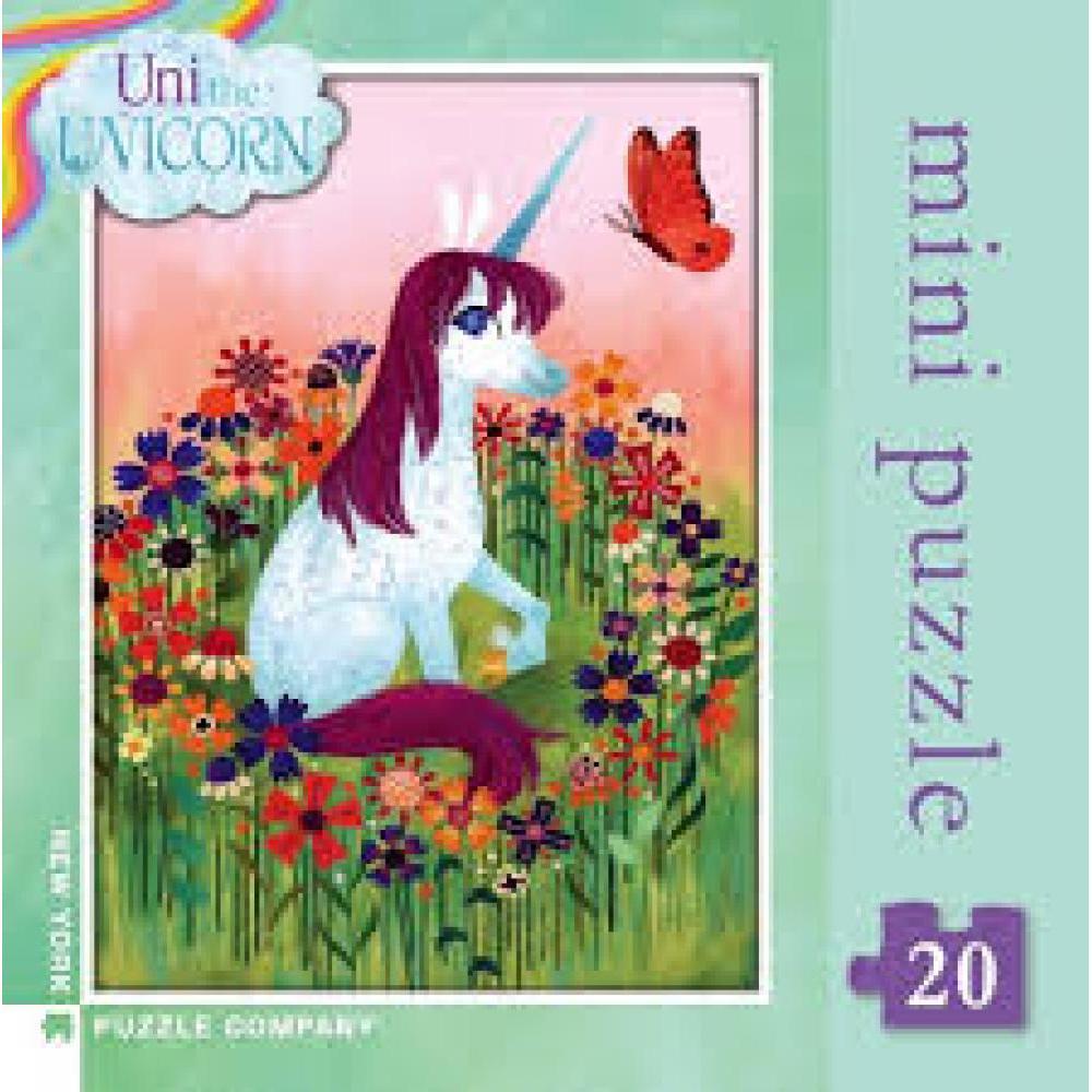 Uni The Unicorn Mini Puzzle 20 Piece Uni The Unicorn