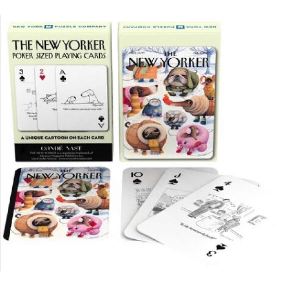 New Yorker Playing Cards Dogs