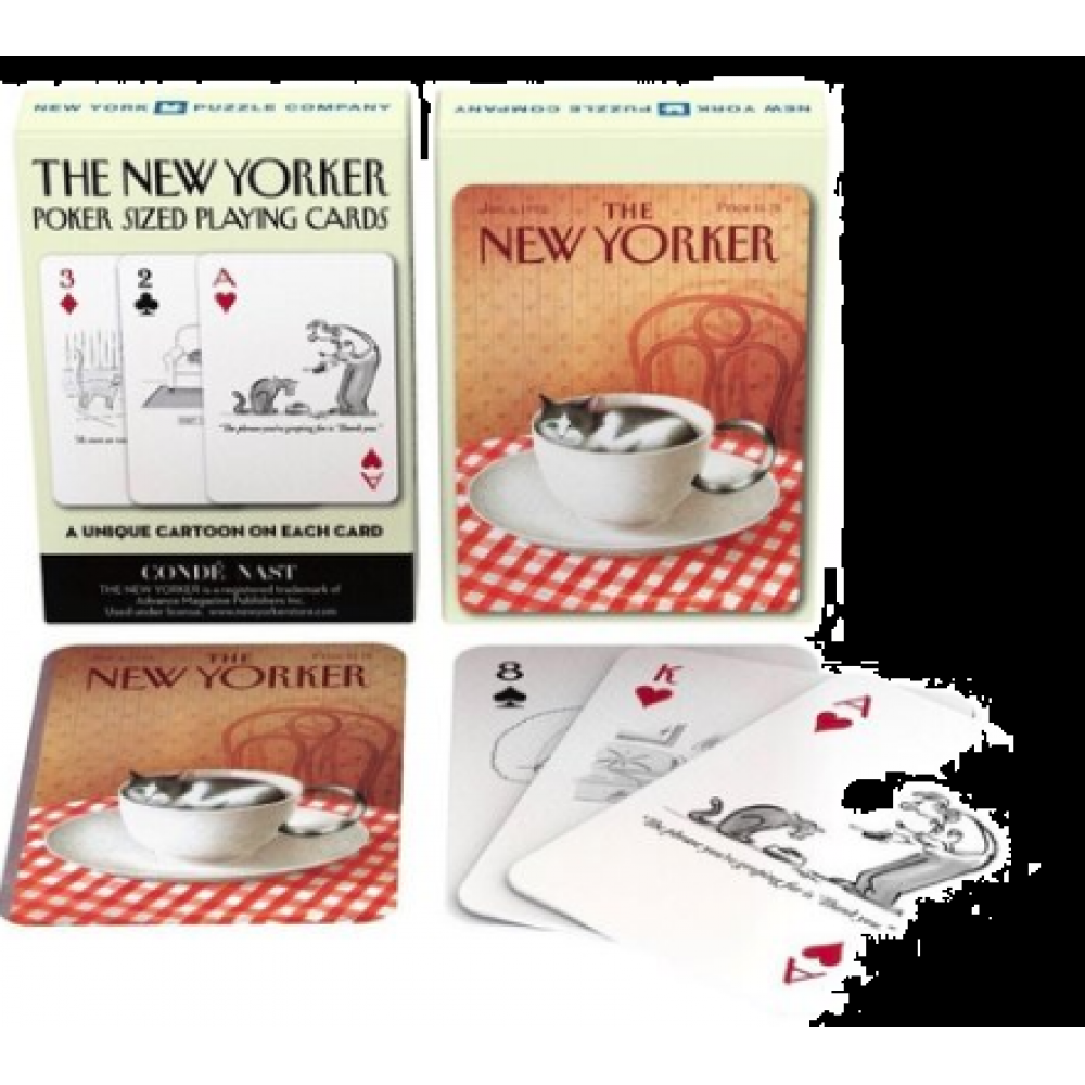New Yorker Playing Cards Cats