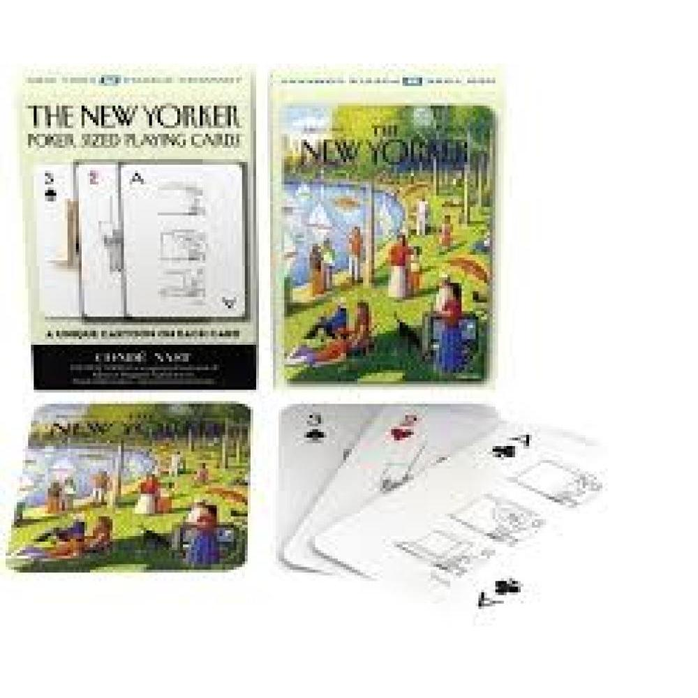 New Yorker Playing Cards Fine Arts