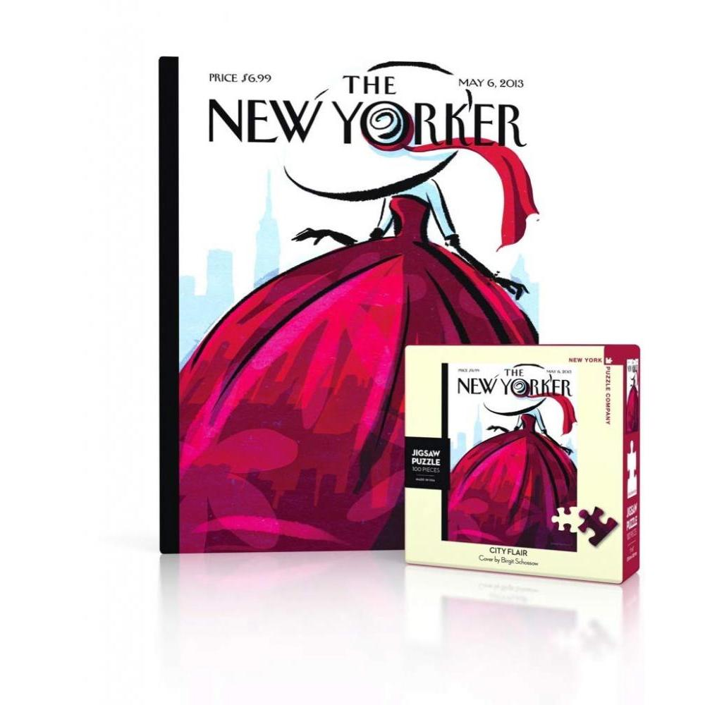 New Yorker Mini Puzzle 100 Piece City Flair