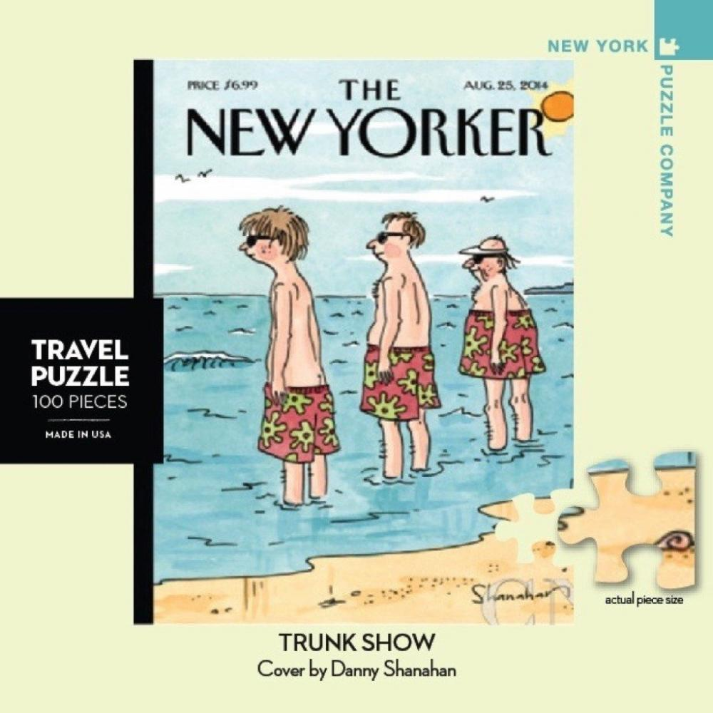New Yorker Mini Puzzle 100 Piece Trunk Show