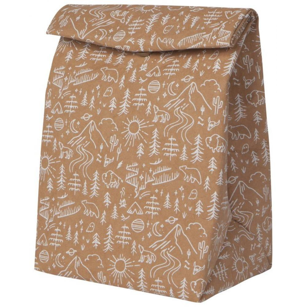 Lunch Bag Paper Stay Wild