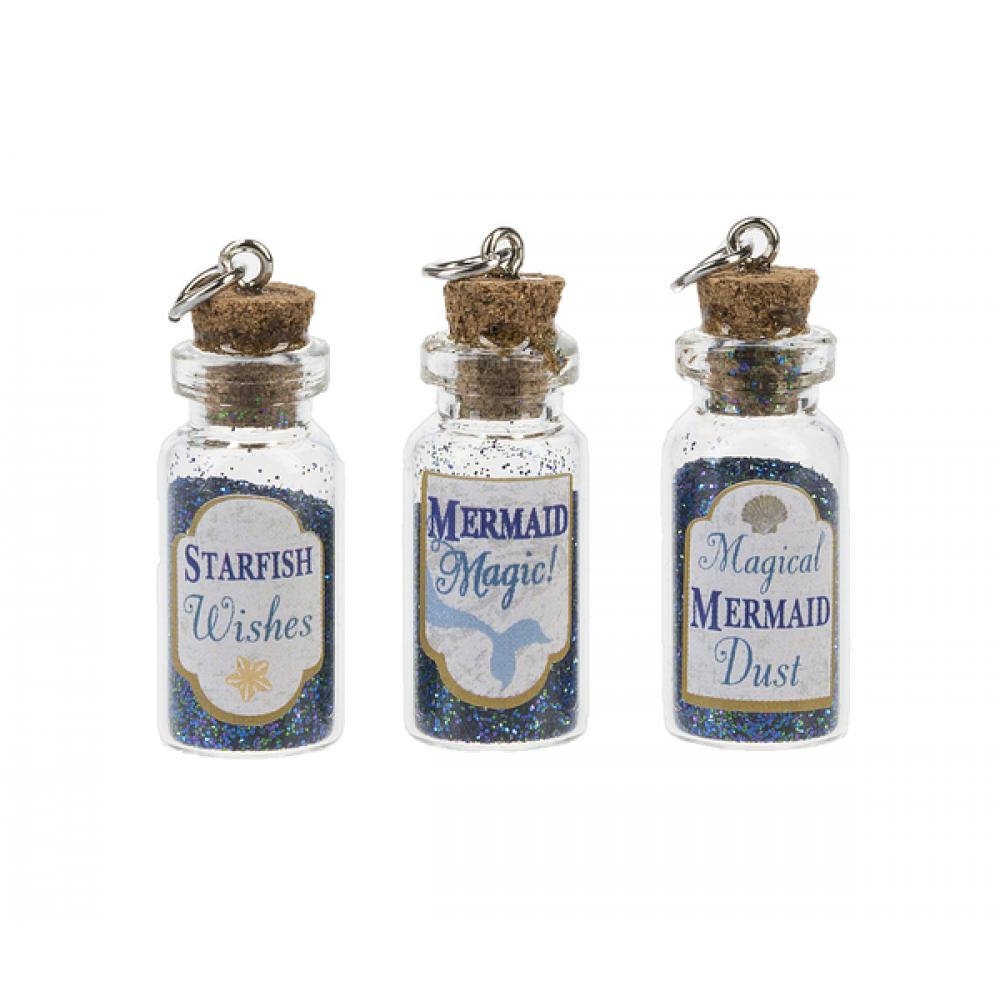 Bottle Charm Magical Mermaid Dust In A Bottle