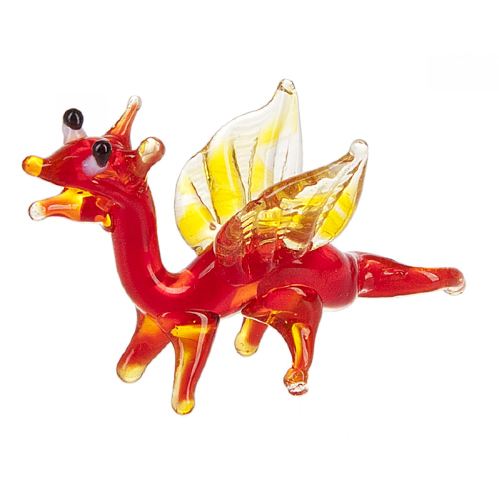 Glass Animal - Dragon Red