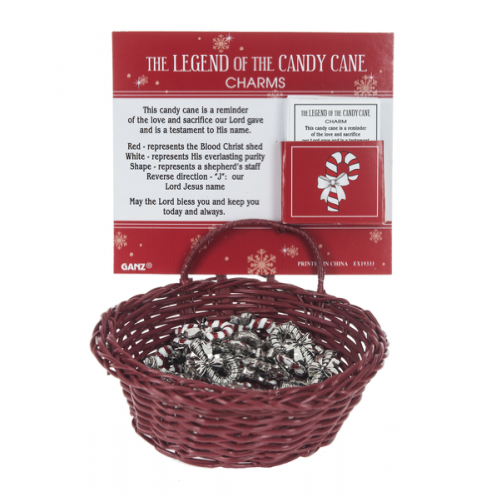 Pocket Charms Christmas The Legand Of The Candy Cane Seasonal