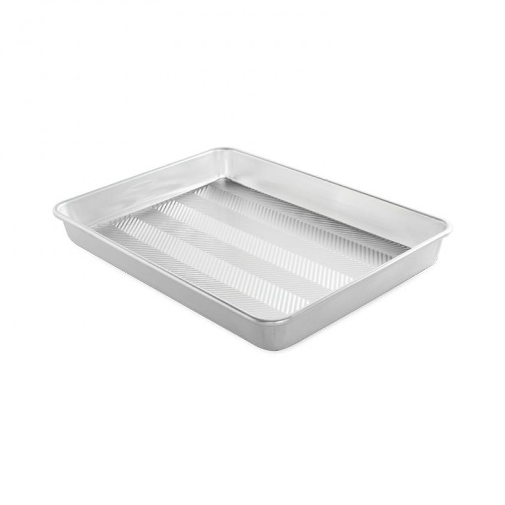 Naturals Prism Textured High Sided Sheet Baking Pan 12 x 17in