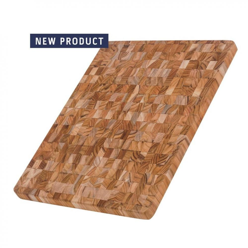 Cutting Board End Grain With Juice Canal 18x14x1