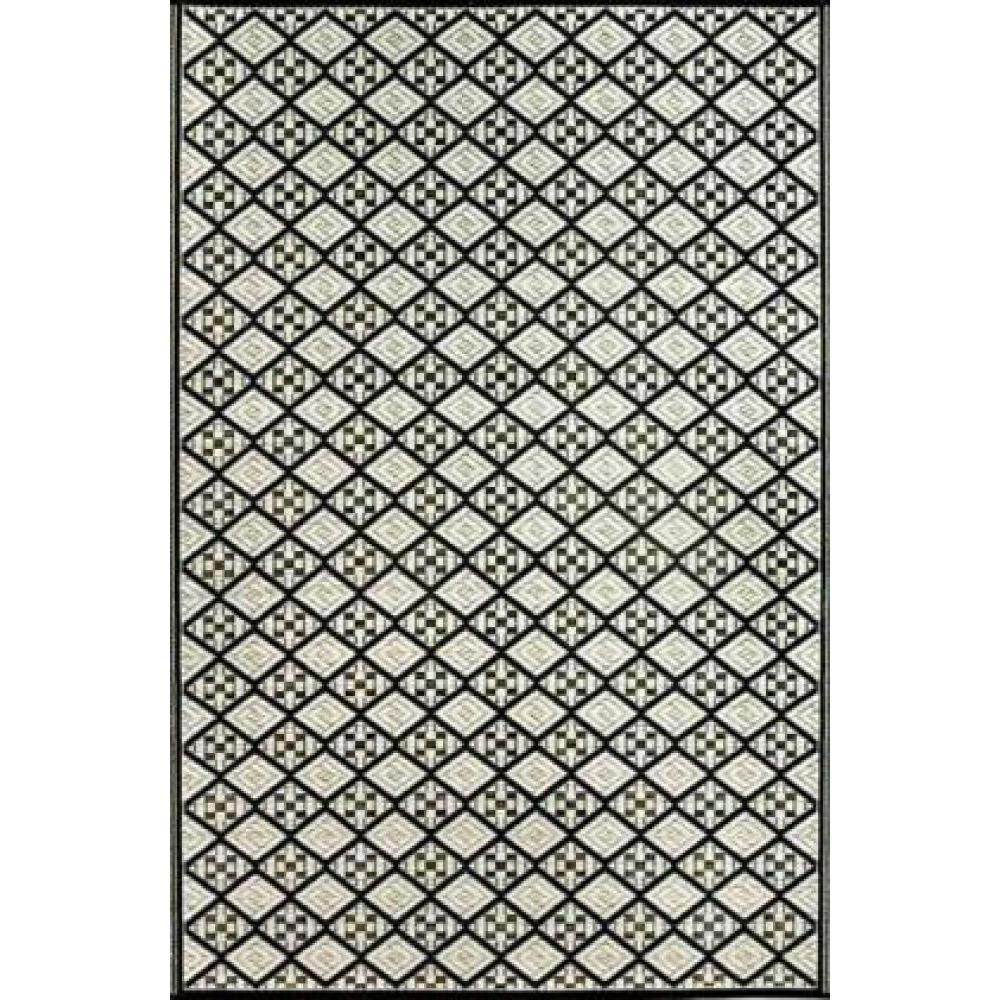 Mad Mats 4x6 Geometric Scotch Black/White