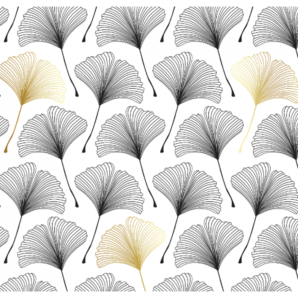 Wrapping Paper Gilded Ginko