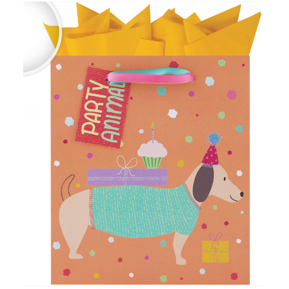 Gift Bag Small Party Animals