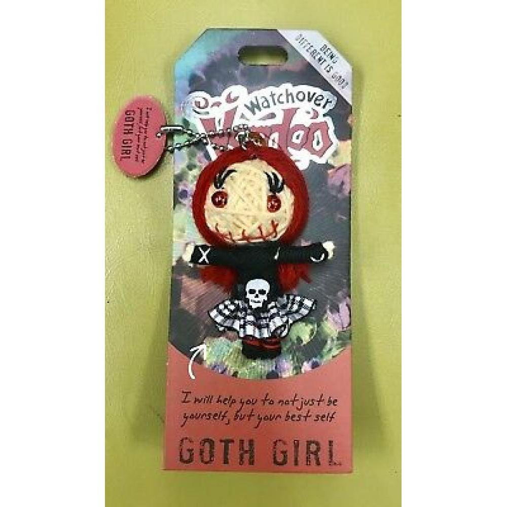 #28 Watchover Voo Doo Doll Goth Girl