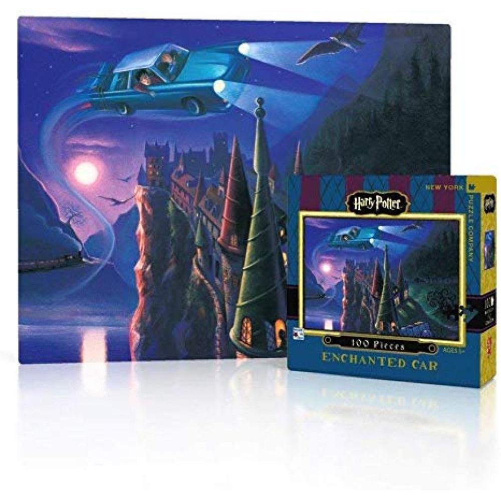 Harry Potter Mini Puzzle 100 Piece Enchanted Car