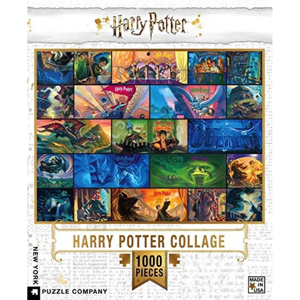 Harry Potter Puzzle 1000 Piece Collage