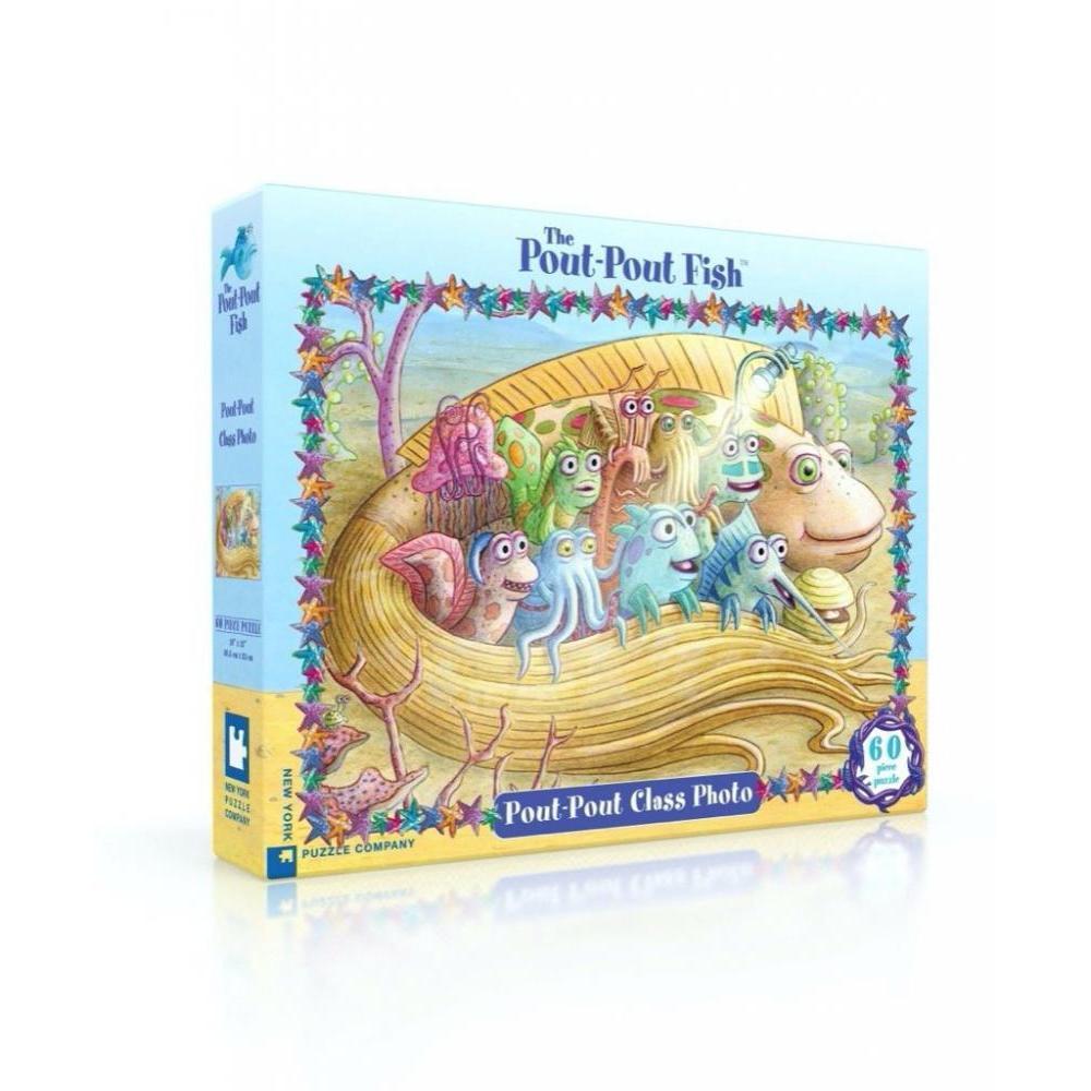 Pout Pout Fish Puzzle 60 Piece Class Photo