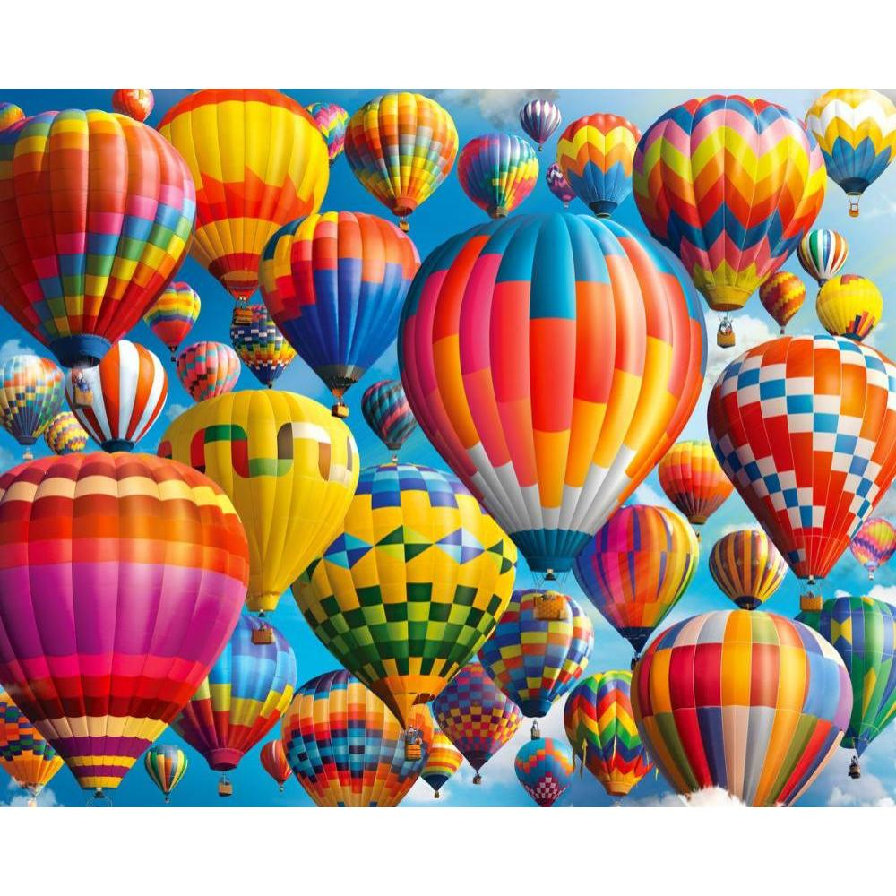 1000 Piece Puzzle Balloon Fest