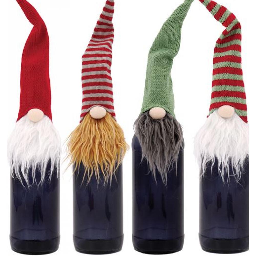 Wine Bottle Topper - Gnome