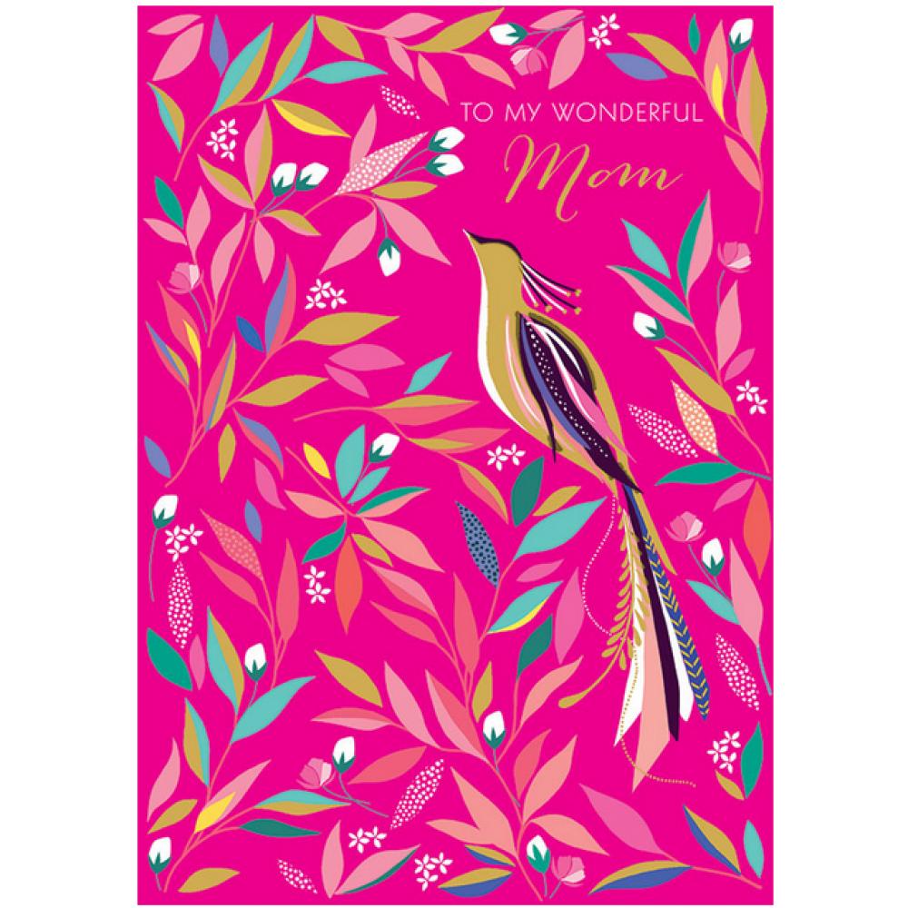 Mothers Day - Bird/Flower