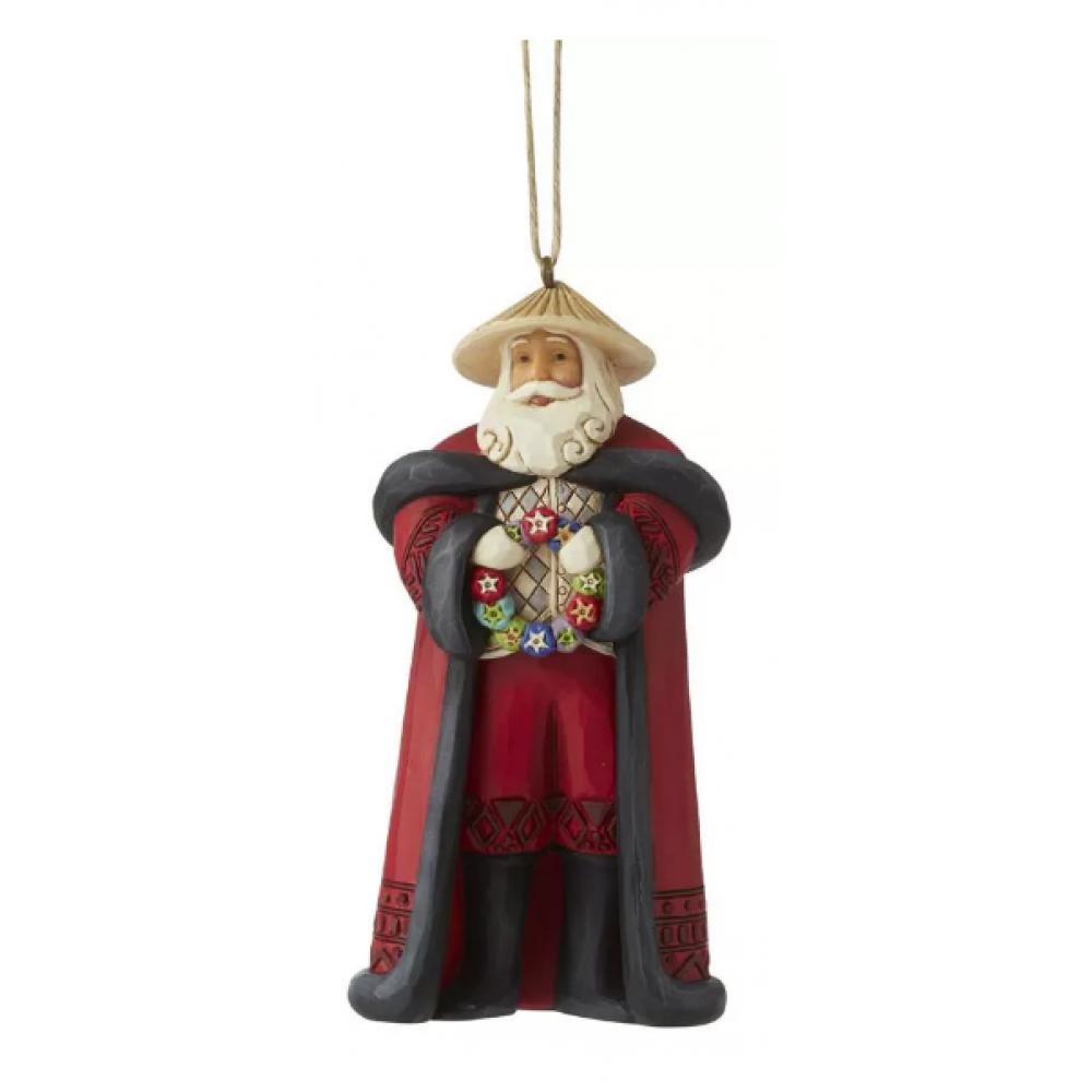 Jim Shore Figurine - Filipino Santa