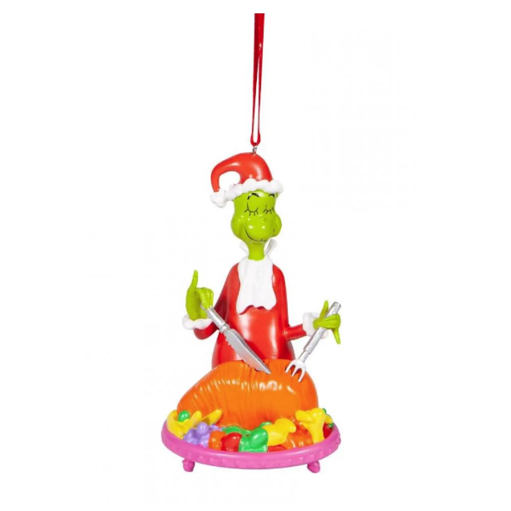 Ornament - Grinch Cutting Roast Beast