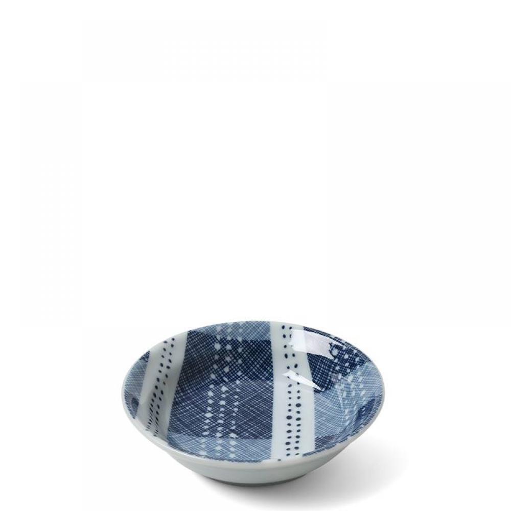 Sauce Dish Blue Textile Stitching