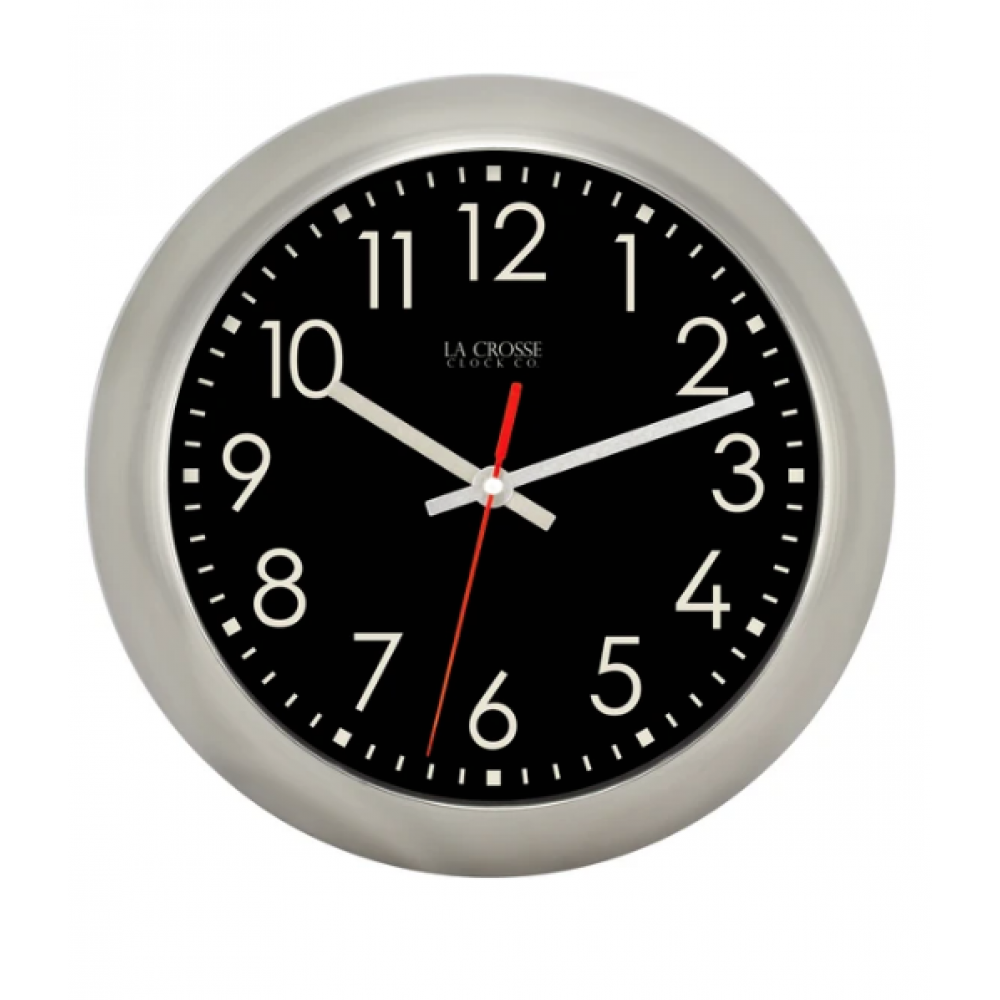 Owen Metal Wall Clock 11 in.