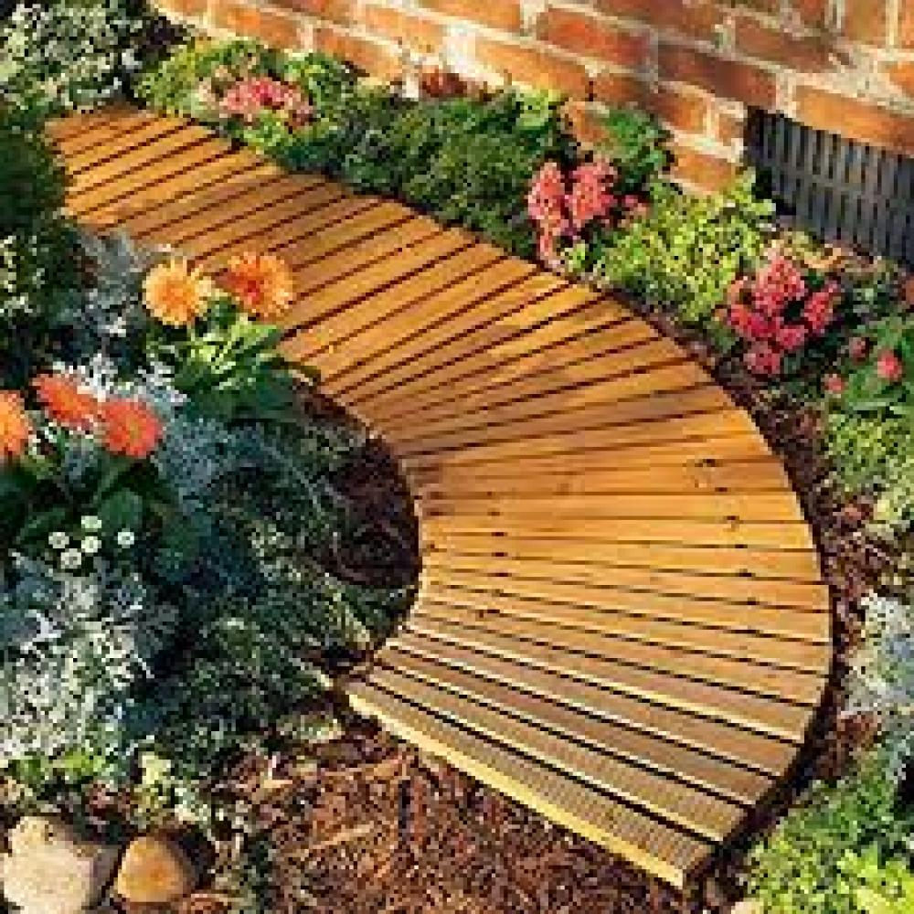 6\' Wooden Roll-Out Pathway