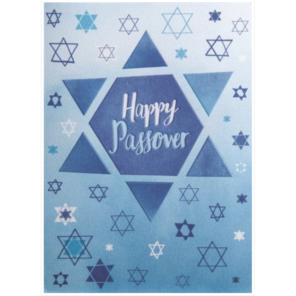 Passover - Star of David Pattern