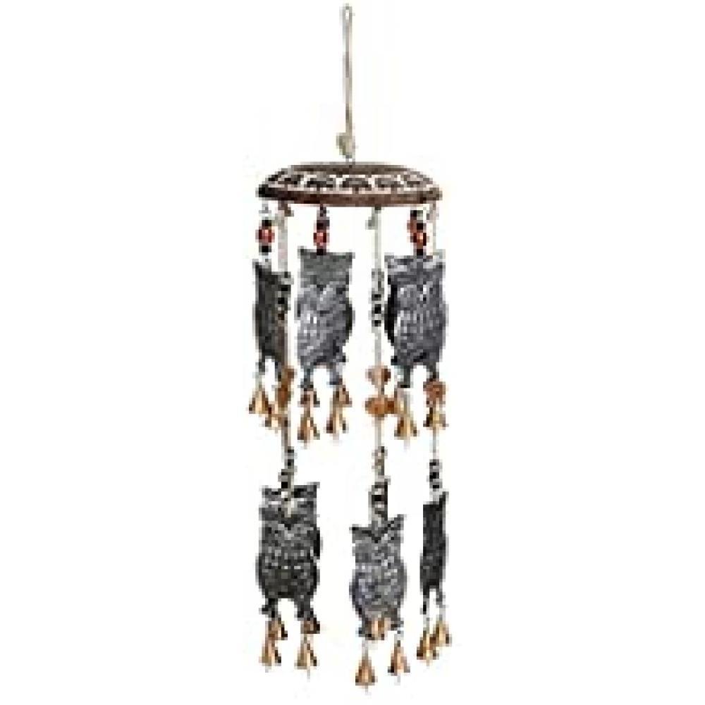 Owl Garden Bells