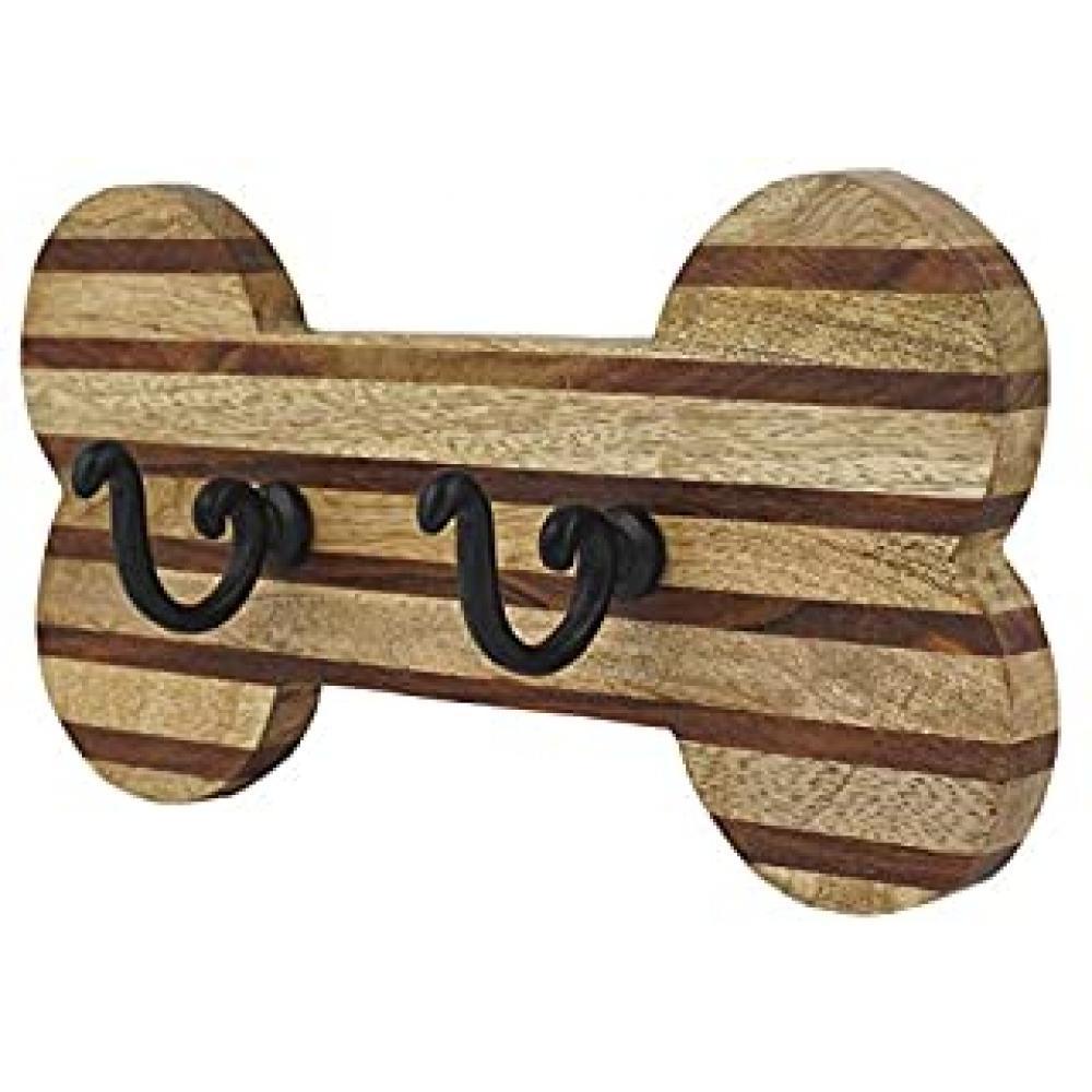Pet - Wooden Dog Bone Wall Hook