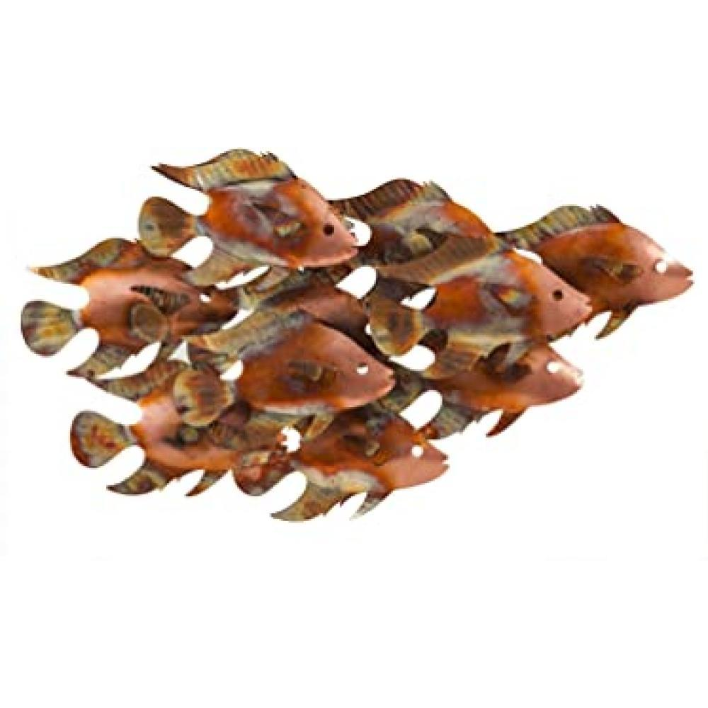 Metal Fish Indoor/Outdoor Wall Art