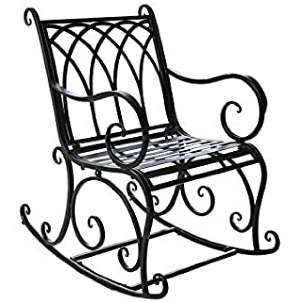 Furniture - Black Rocking Chair
