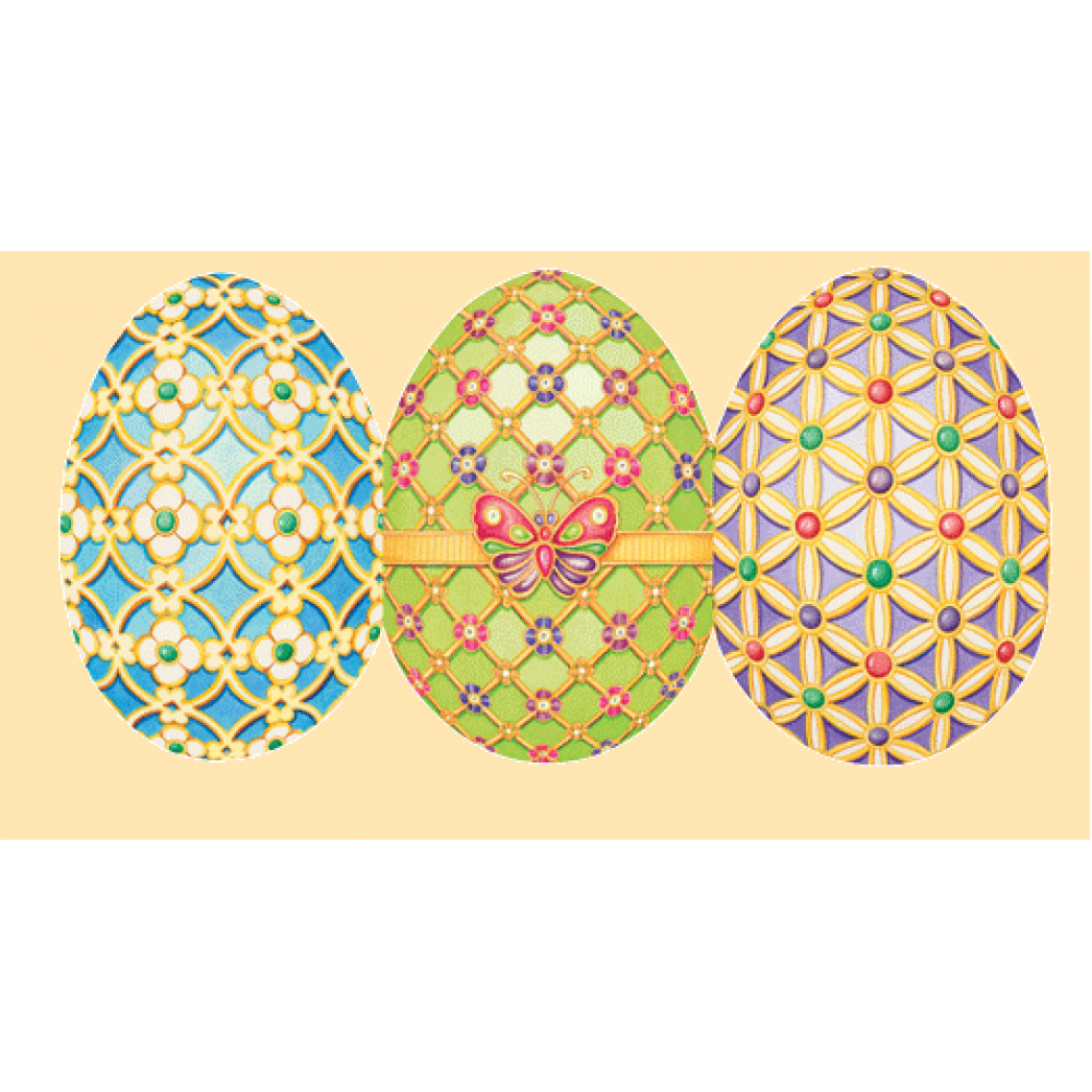 Easter - Die-Cut Fold Out Eggs