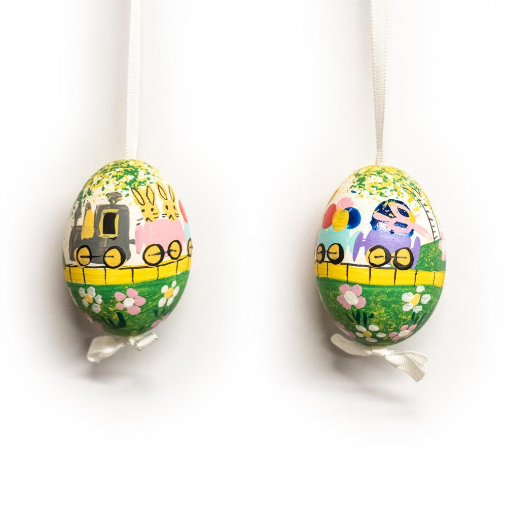 Bunny Train Egg