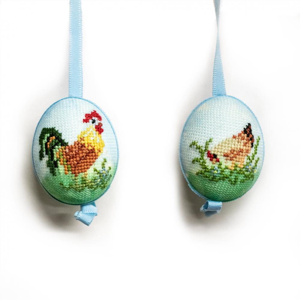 Needle Point Chicken Egg
