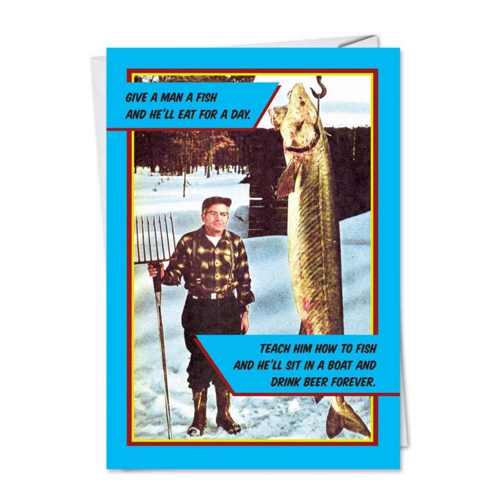 Fathers Day - Give a man a fish