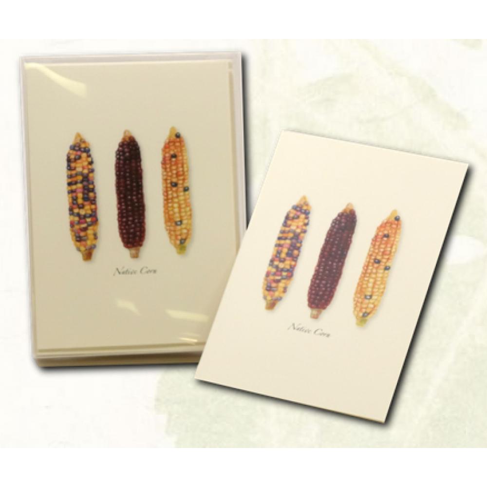 Boxed Card - Native Corn