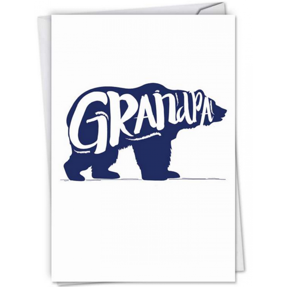 Fathers Day - Grandfather - Grandpa Bear