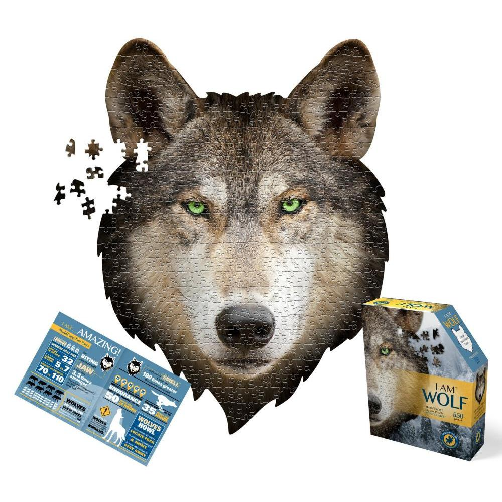 Puzzle 550pc I am Wolf