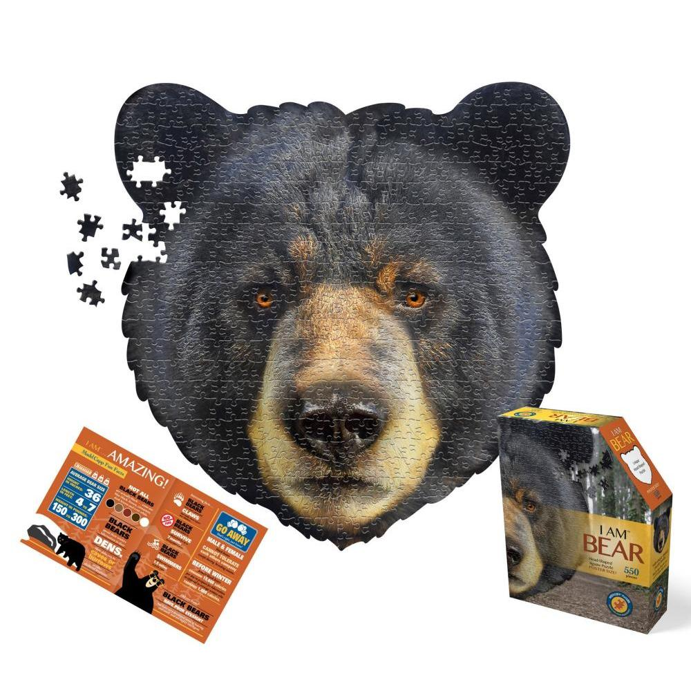 Puzzle 550pc I am Bear
