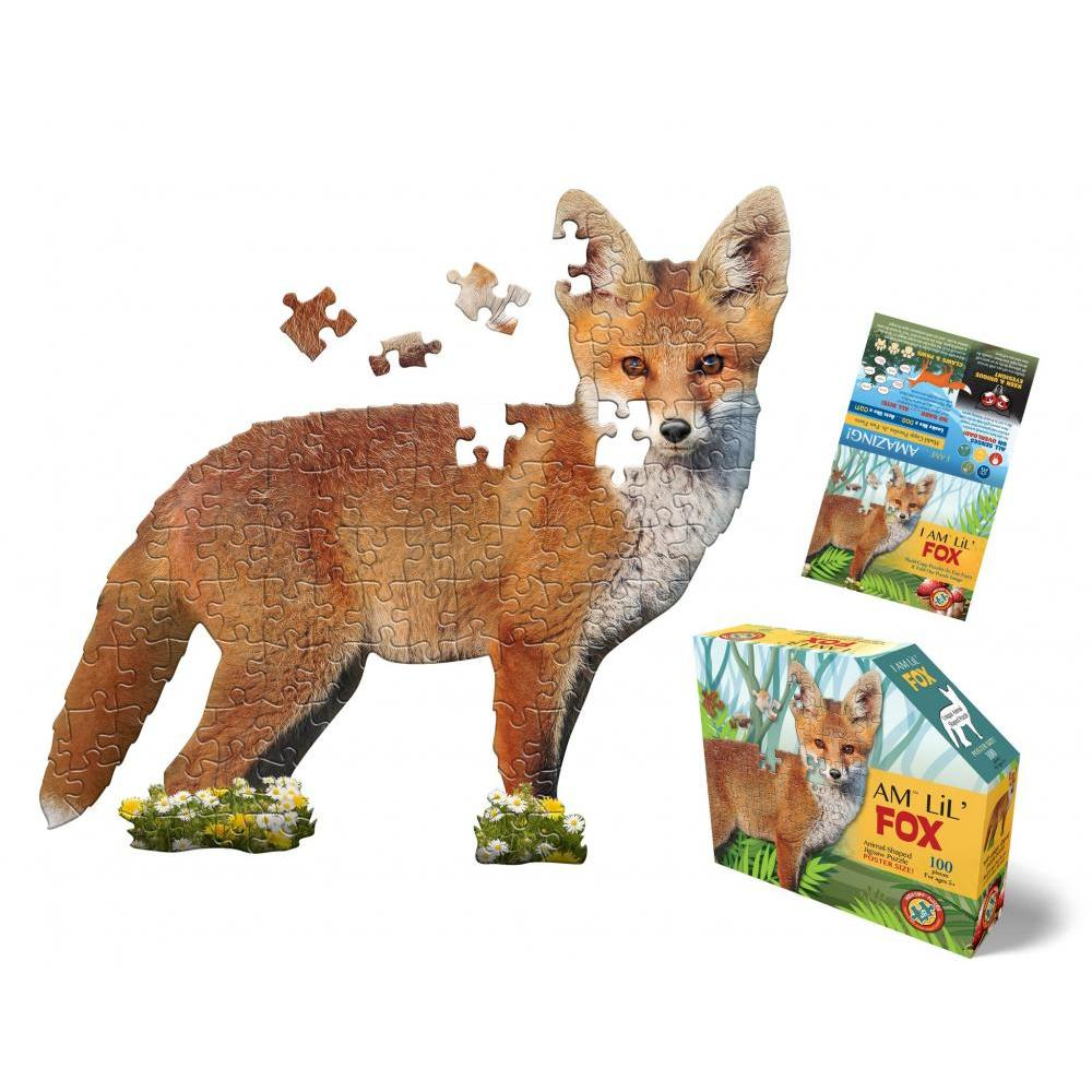 Puzzle 100pc I am LiL Fox