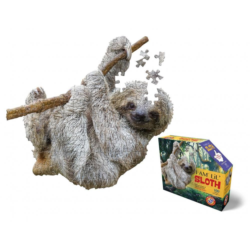 Puzzle 100pc I am LiL Sloth