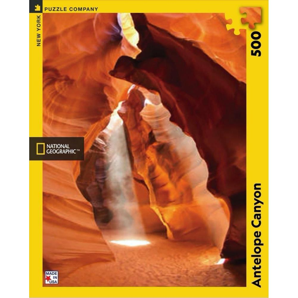 National Geographic Puzzle 500 Piece Antelope Canyon