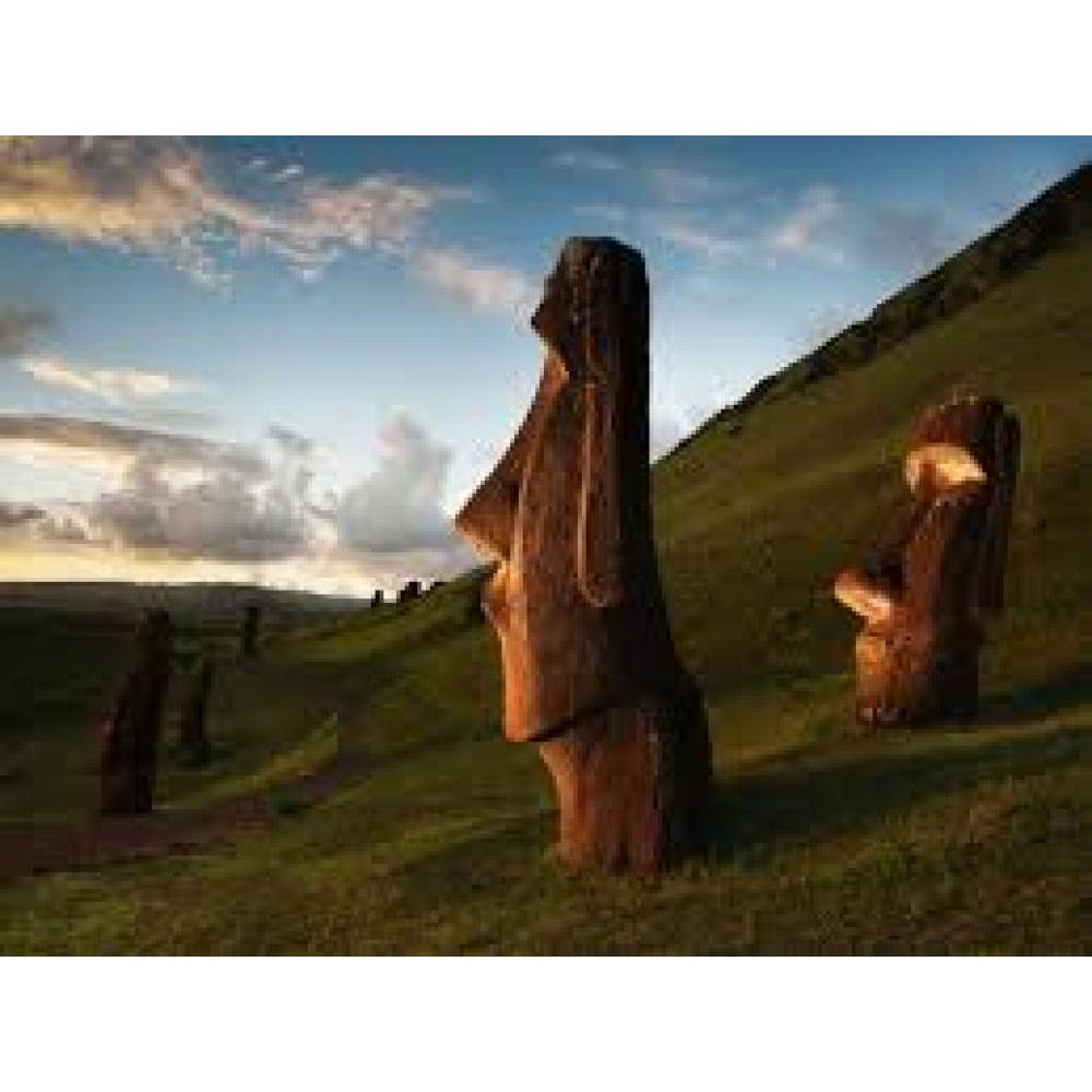 National Geographic Puzzle 1000 Piece Rapa Nui Easter Island