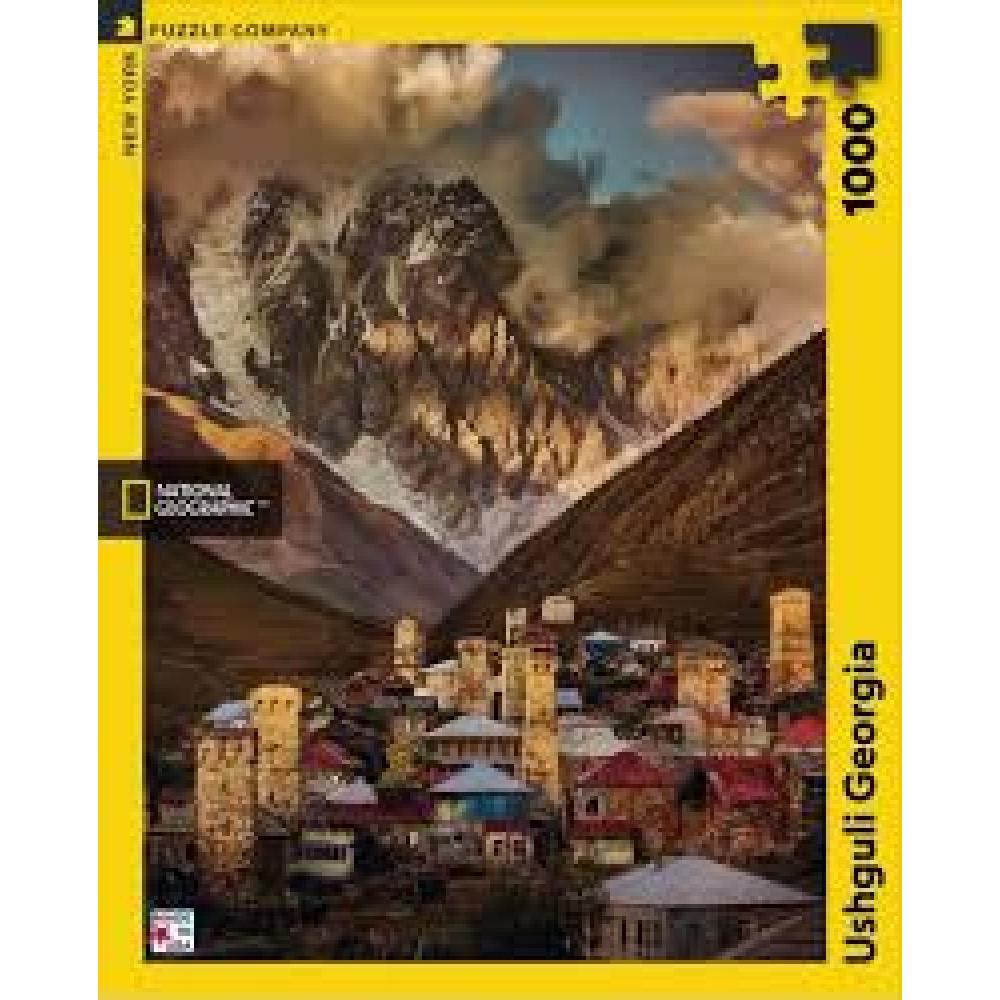 National Geographic Puzzle 1000 Piece Ushguli Georgia