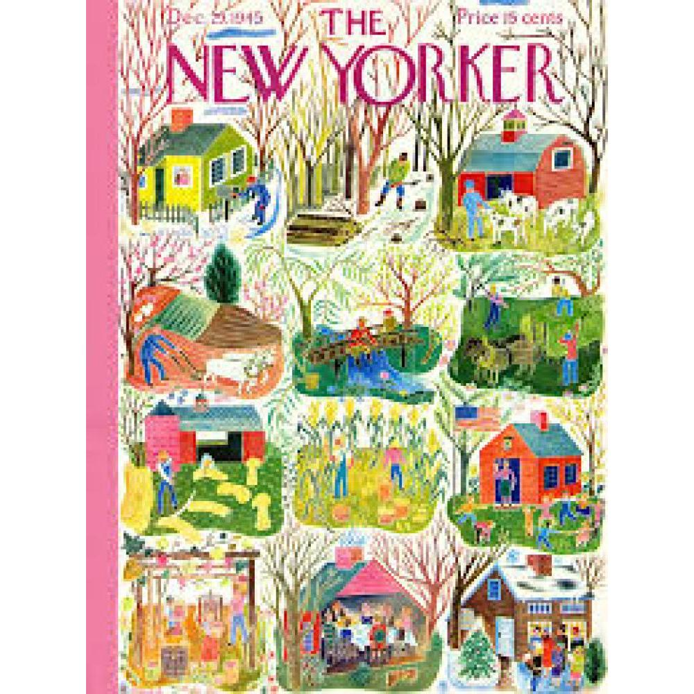 New Yorker Puzzle 1000 Piece Farm Calendar