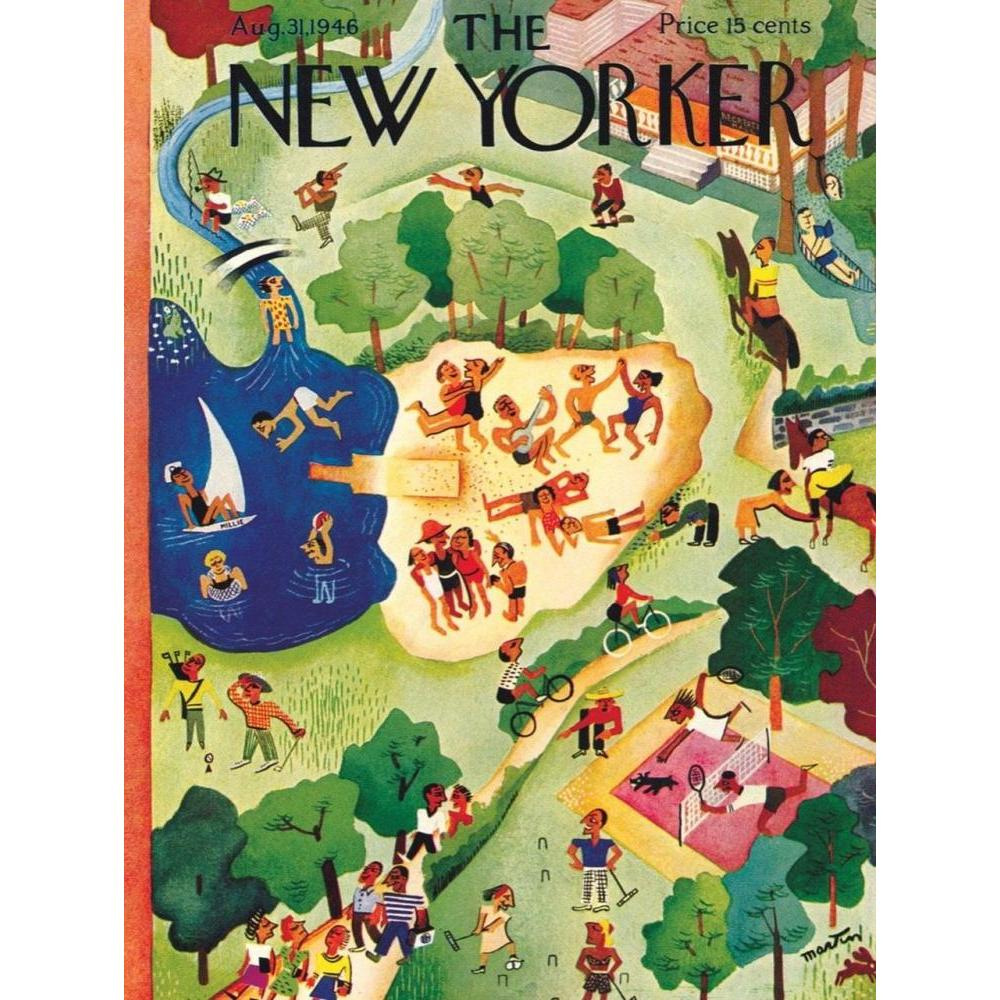 New Yorker Puzzle 1000 Piece Summer Camp